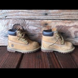 Leather Toddler Timberland Boots size 5.5